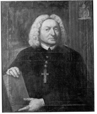 Portret van abt Antoon Musaert