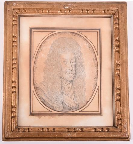 Busteportret van Leopold I, keizer van het Duitse Rijk (1640-1705)