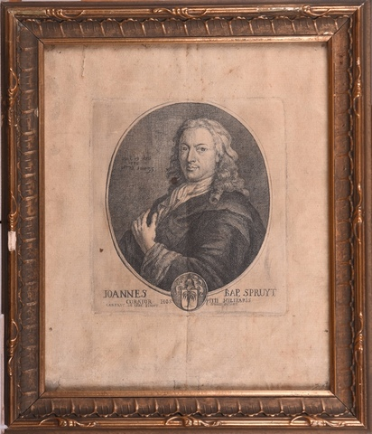 Portret van Joannes Baptist Spruyt