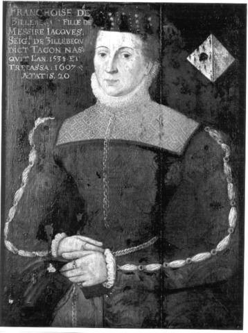 Portret van Francisca van Zillebeke