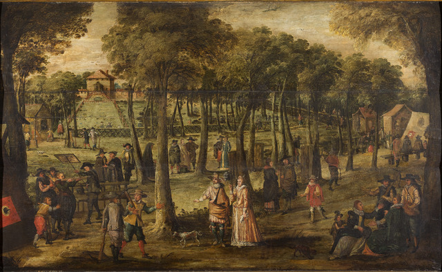 Doelschieting in de Sint-Jorisgilde te Gent