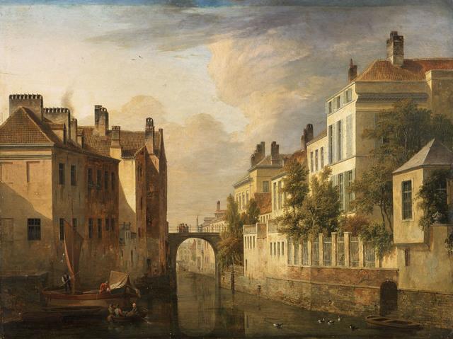 De Walpoortbrug te Gent