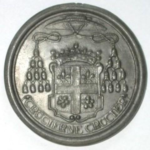 Begrafenispenning van Karel Van den Bosch, 8ste bisschop van Gent, 1665