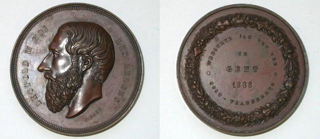 Prijspenning veewedstrijden Oost-Vlaanderen, 1868