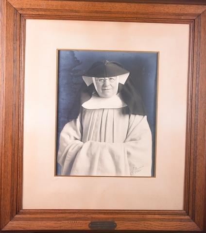 Portret van Eerwaarde Moeder Barbara