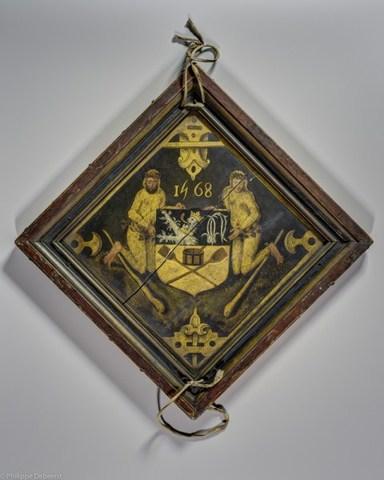 Wapenschild van het ambacht van de Gentse korenmeters