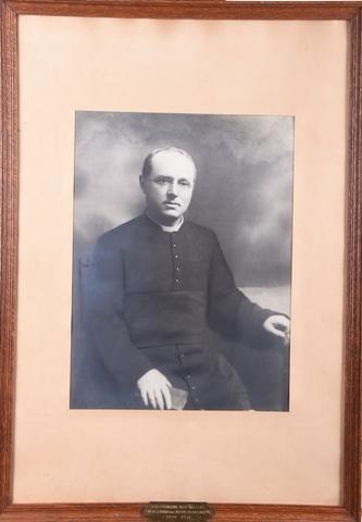 Portret van de Zeer Eerwaarde Heer Joseph Walters