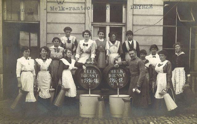 Melkrantsoenering te Deinze (1916-1917)