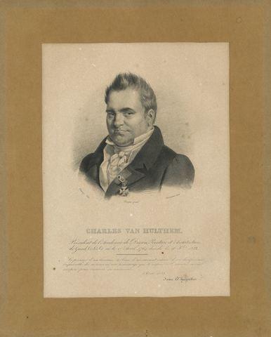 Portret van Karel Van Hulthem