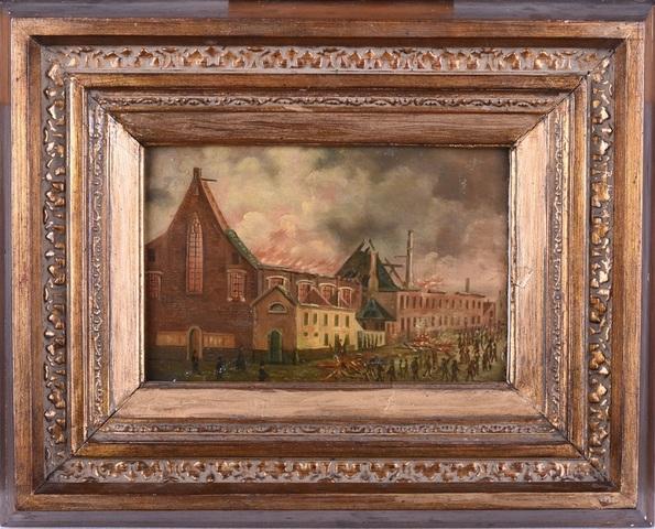 Brand van het Augustijnenklooster te Gent