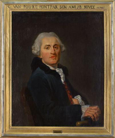 Portret van Karel Van Poucke