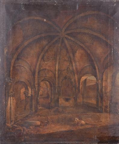 Lavatorium van de Sint-Baafsabdij te Gent
