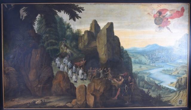 De verschijning van Sint-Michiel op de Garganoberg