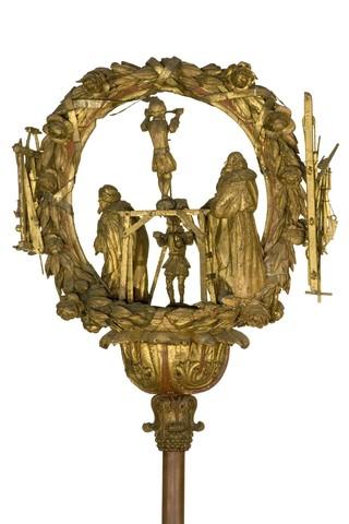 Processietoorts van het ambacht van de Gentse timmerlieden, schrijnwerkers, houtbrekers en houtzagers