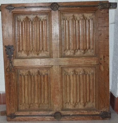Kastdeur uit het Gentse stadhuis
