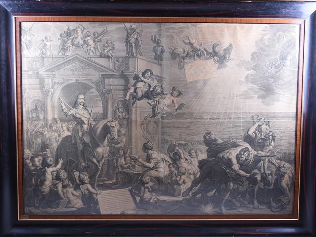 Flandria Liberata, Huldeblijk aan aartshertog Leopold Willem door het Gentse stadsbestuur, 1653