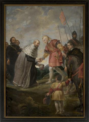 Kardinaal-Infant Ferdinand te Keulen ontvangen