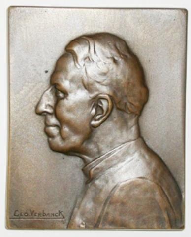 Erepenning aan G. Van Den Gheyn, 1926