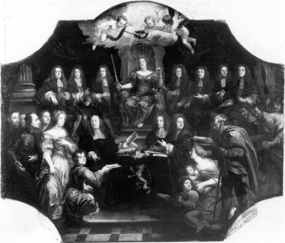 De rechtvaardige rechtspraak van de schepenen van Ghedeele te Gent
