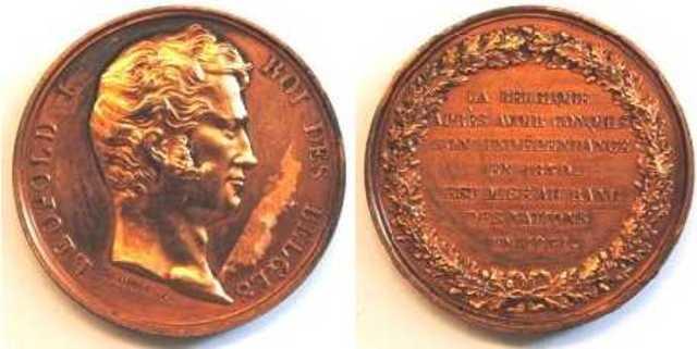 Gedenkpenning voor de erkenning van België als natie, 1831