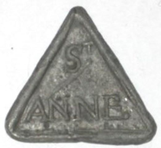 Armenpenning van de Sint-Anna parochie te Brugge