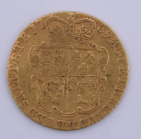 Half Guinea, 1739, George II