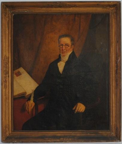 Portret van J.F. Van Basterhout