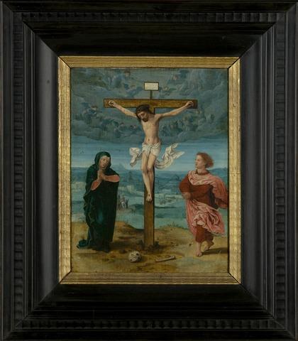 Calvarie, Kruisiging