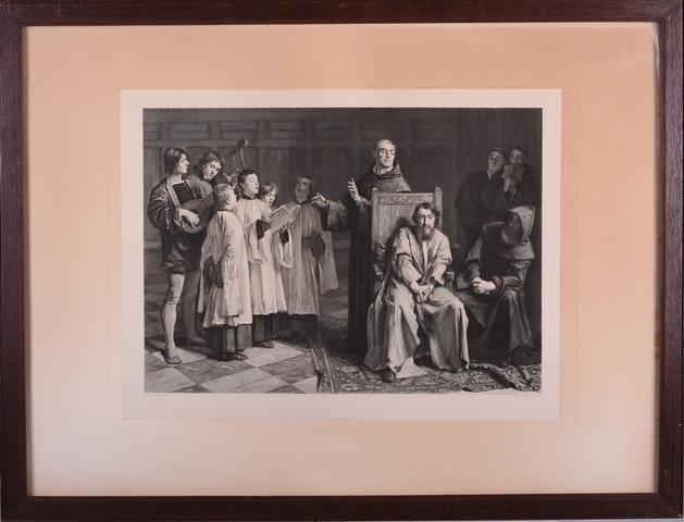 De schilder Hugo van der Goes in het Rode Klooster