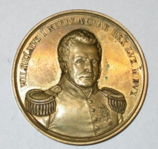 Erepenning aan Koning Willem I van Nederland, 1830