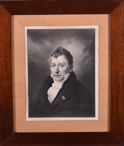 Portret van Joseph van Crombrugghe, burgemeester van Gent