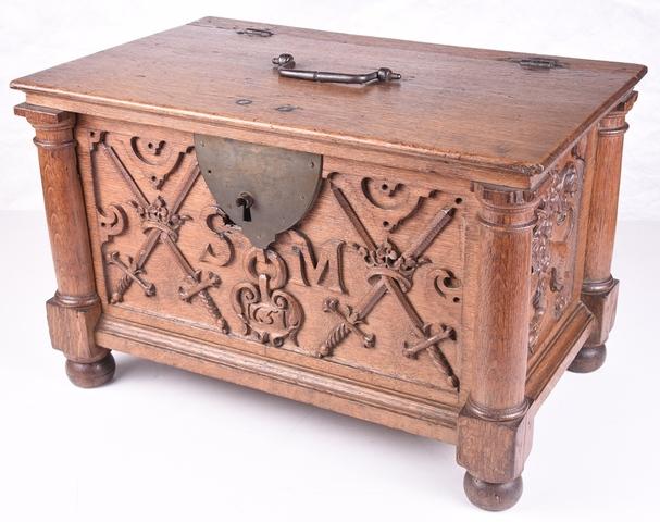 koffertje van de Sint-Michielsgilde te Gent
