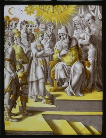 De geschiedenis van Jozef: Jozef vertelt zijn dromen aan zijn vader en broers