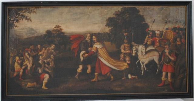 Verzoening van Jacob en Esau