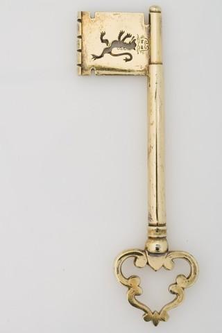 Ceremoniële stadssleutel van Gent
