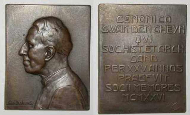 Ereplaket aan G. Van Den Gheyn, 1926