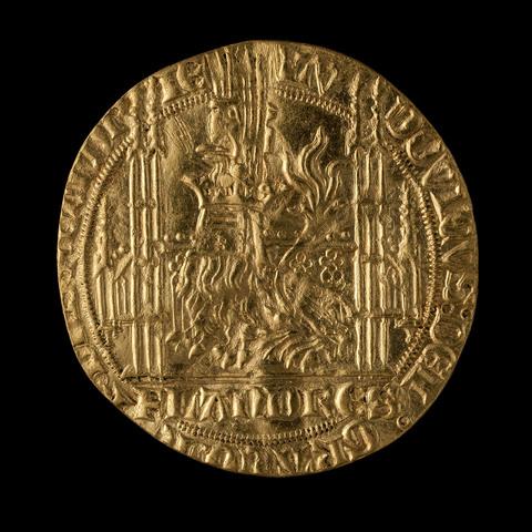 1/2 gouden leeuw, Lodewijk van Male