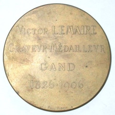 Erepenning aan Victor Lemaire, 1905-1906