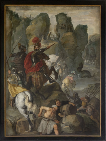 Hannibal trekt over de Alpen