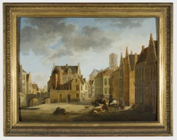 De oude beestenmarkt te Gent