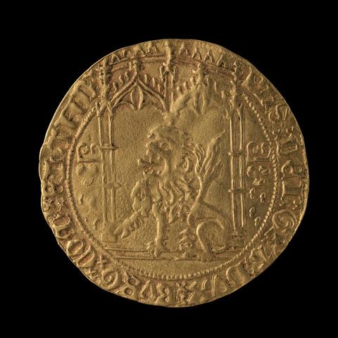 Gouden leeuw, Filips de Goede, niet gedateerd, Brugge of Gent