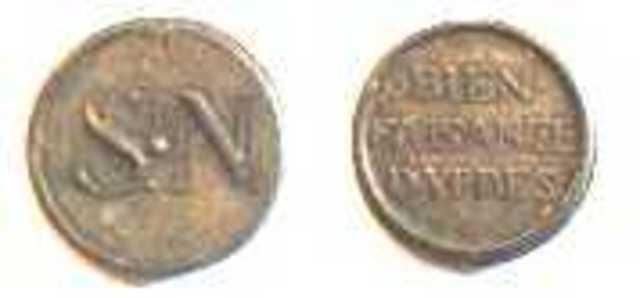 Armenpenning van Sint-Niklaaskerk te Ieper, z.d.