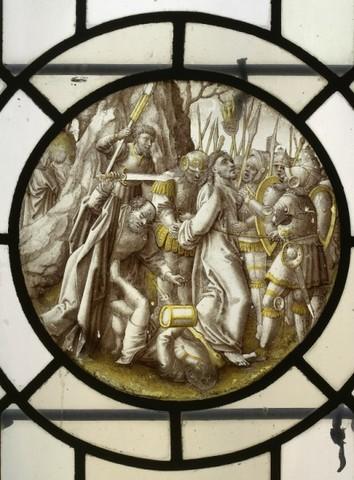 Christus wordt gevangen genomen in de hof van Getsemane (Hof van Olijven)