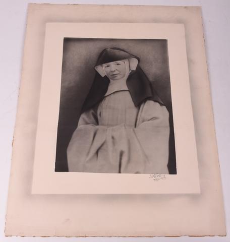 Portret van Eerwaarde Moeder Stephanie