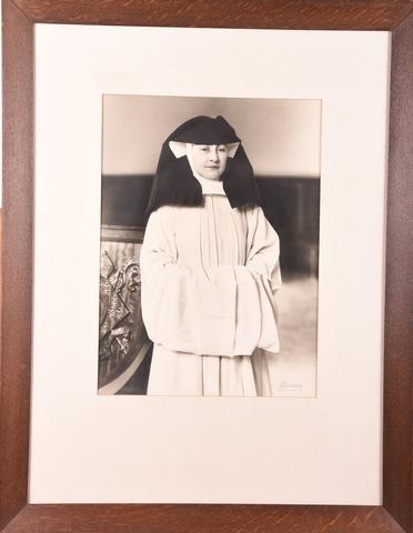 Portret van Eerwaarde Moeder Roberte