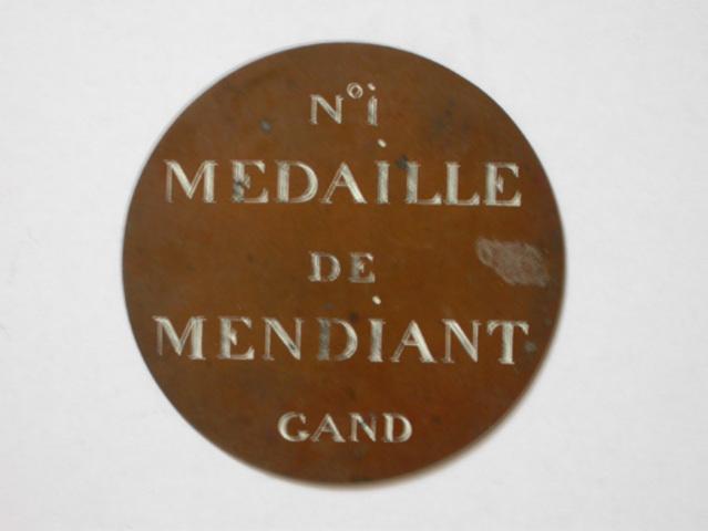Bedelaarspenning van de Stad Gent, N° I