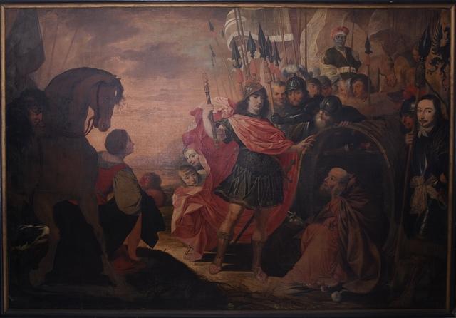 Alexander en Diogenes