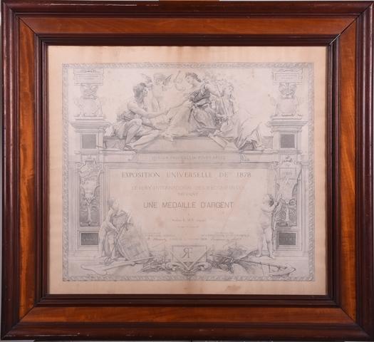 Diploma uitgereikt aan E. Suy