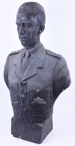 Portret van koning Boudewijn