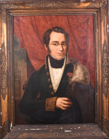 Portret van Jozef Guislain (?)